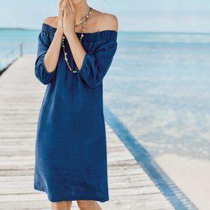 Boden Henrietta Linen Day Dress WW259